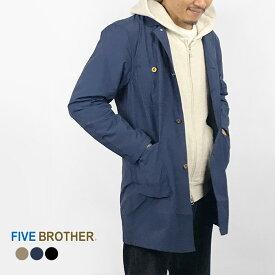 [19SS新作]FIVE BROTHER ファイブブラザー メンズナイロンコート メンズナイロンジャケット ナイロンジャケット ジャケット アウター ナイロン ナイロンエンジニアコート・151910N アウター ナイロン メンズ MEN'S 長袖