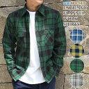 ウィンターセール 【ファイブブラザー 直営店】FIVE BROTHER メンズ ネルシャツ 長袖 エクストラヘビー フランネル ワ…