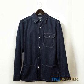 FIVE BROTHER ビックポケット ワークシャツ