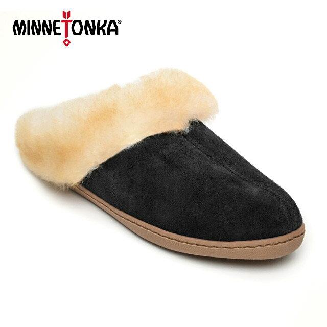 【 MINNETONKA ミネトンカ 】 SALE(返品交換不可) SHEEPSKIN MULE (mn3361) シープスキン ミュール