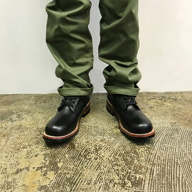 【PISTOLERO(ピストレロ)】Men's6INCHPLAINTOELACEUP[120]メンズ6インチプレーンブーツ日本正規代理店送料無料