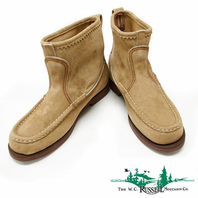 RUSSELL MOCCASIN ラッセル モカシン KNOCK-A-BOUT BOOTS ノックアバウトブーツ 《 4040-7 》Men's カジュアル シューズ 靴 日本正規代理店 送料無料 楽天スーパーセール