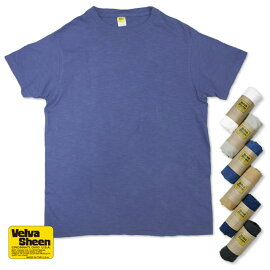 【VelvaSheen(ベルバシーン)】YellowLabel:ROLLEDS/SREGULARTEE(161477)アメカジTシャツイエローレーベル日本正規代理店