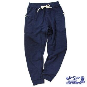 ONLINE限定Velva Sheen 8oz. VIPER SWEAT PANTS(161561)berubashin 8盎司运动衫裤子日本正规代理店
