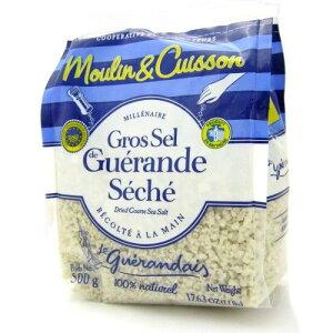 ゲランドの塩/ 乾燥粗塩/ グロ・セル(粗粒)/Sel de Guerande Gros sel marin 【500g】 ※ネコポス非対応