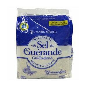 ゲランドの塩/ 細粒塩/ セル・マリン(細粒)/Sel de Guerande Sel marin moulu 【500g】 ※ネコポス非対応