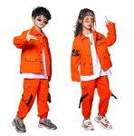 ヒップホップキッズダンス衣装子供服ダンス衣装トップスパンツセットアップヒップホップキッズダンス衣装韓国パーカーおしゃれジャズ
