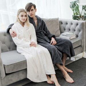 送料無料 バスローブ ガウン メンズ レディース 着る毛布 ルームウェア 防寒 ロング カップル 男女兼用 夫婦 おしゃれ パジャマ 洗える 暖か もこもこ ふわふわ ペアルック お揃い かわいい