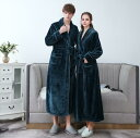送料無料 バスローブ ガウン メンズ レディース 着る毛布 ルームウェア 防寒 ロング カップル 男女兼用 夫婦 おしゃれ…