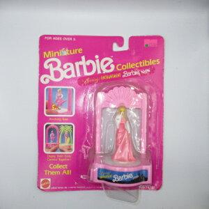 1990年★バービー★Barbie★miniフィギュア★コレクション★人形★ミニチュアバービー★ピンク★Enchantment barbie