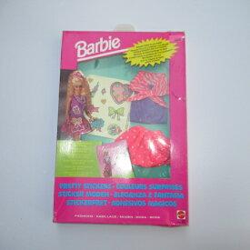 1992年★90's★Barbie★バービー★洋服★着せ替え★Sticker★ステッカー★フィギュア★人形★