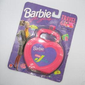 1992年★Barbie for girls★Cool Jousバービー★トラベルゲーム★TRAVEL GAME★カードゲーム★人形★フィギュア★