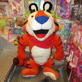 SALE!BIG SIZE★Tony the Tiger★トニー・ザ・タイガー★ケロッグ★Kellogg's★シリアル★ぬいぐるみ★人形★シ企業物★アドバタイジング★95センチ