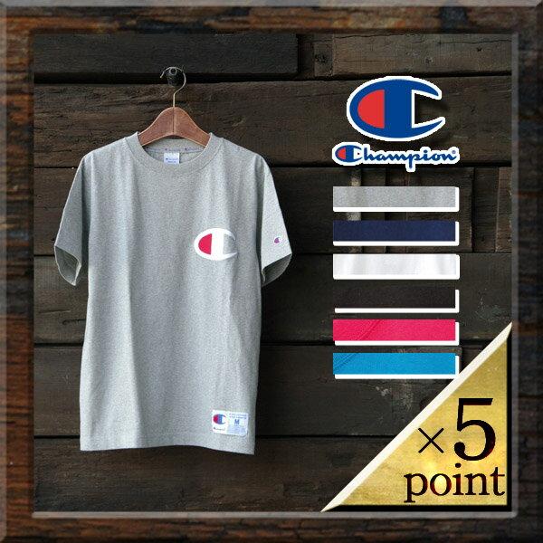 チャンピオン【Champion】ビッグロゴTシャツ(c3-f362) Men's 6color □ BIG LOGO S/S TEE