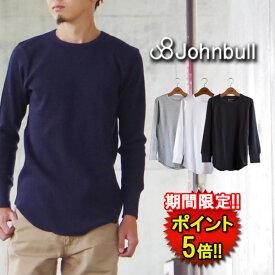 ジョンブル Tシャツ (25150) ベーシックサーマル長袖Tシャツ メンズ □