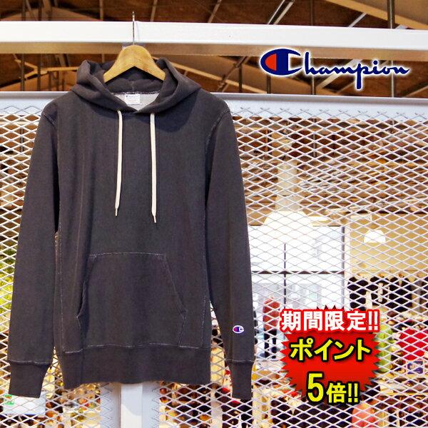 チャンピオン【Champion】リバースウィーブプルオーバースウェットパーカー (C3-N102) Men's 2color □