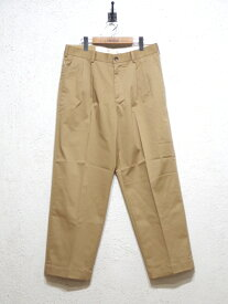 KIFFE パンツ (KF180TC14021) OFFICER WIDE TROUSERS メンズ □