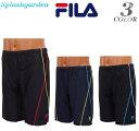 水着 メンズ スイムパンツ FILAフィラ/FILA/ブラック/ネイビー/M/L/LL少しゆったりめでルーズ感プール/スポーツ/水泳/…