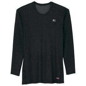 MIZUNO(ミズノ) A2JA5509 ブレスサーモ ミドルウエイト クルーネック長袖シャツ 中厚 スポーツ アウトドアウェア