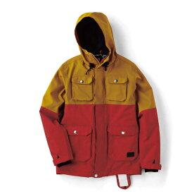 【送料無料】DESCENTE A-SEVEN(デサント エーセブン) DA7-5114 メンズ スノーボード ジャケット JACKET ダークトーン 切り替えし【SALE】