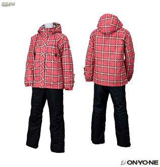 Skiwear top and bottom set waterproofing pressure 3,000mm for ONYONE RESEEDA (オンヨネレセーダ) RES87001 Lady's adult