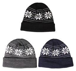 日榮產業3551編織物便帽發熱fleece編織物蓋子男女兩用滑雪板
