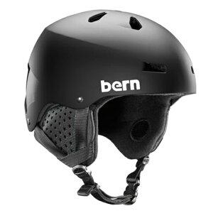 bern(バーン)BE-SM22BMBLKMACONDELUXEスノーヘルメットジャパンフィットスキースノーボード