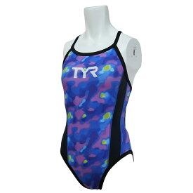 【メール便OK】TYR(ティア) DTIED-20M レディース 競泳トレーニング水着 練習用 レギュラーカット ダイアモンドバック
