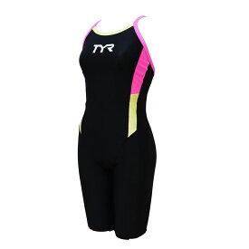【メール便OK】TYR(ティア) SCOLR-20M レディース スパッツスーツ オールインワン 競泳トレーニング水着 練習用