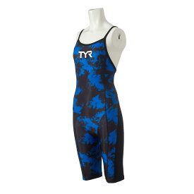 【メール便OK】TYR(ティア) SGLXY112 レディース 競泳トレーニング水着 ショートジョン スパッツスーツ 練習用