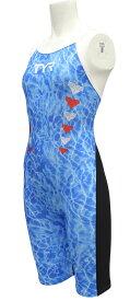 【メール便OK】TYR(ティア) SWASF112 レディース 競泳トレーニング水着 ショートジョン スパッツスーツ 練習用