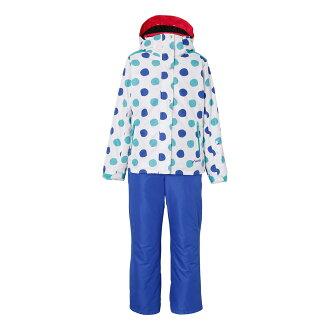 PHENIX (phoenix) PS6H22P75 SNOW CRYSTAL kids toddler girls skiwear top and bottom set