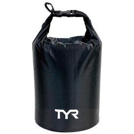 TYR(ティア) LDBS7 LIGHT DRY BAG 10L ロゴ付き スイムバッグ 防水ポーチ BK