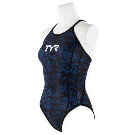 【メール便OK】TYR(ティア) FPOWR-18M レディース 競泳トレーニング水着 フレックスバック 女性用 練習用