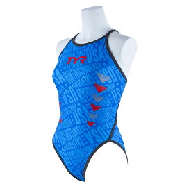 【メール便OK】TYR(ティア) FCHEV-18M レディース 競泳トレーニング水着 ハイカット フレックスバック 練習用 女性用