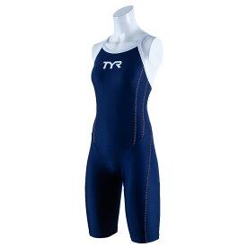 【メール便OK】TYR(ティア) SSLID-20S レディース 競泳トレーニング水着 ショートジョン スパッツスーツ TEAM CHEVRON