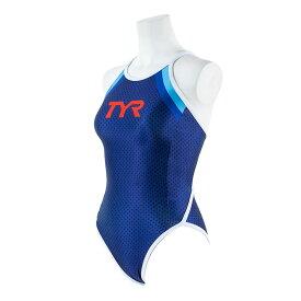 【メール便OK】TYR(ティア) FCLUB-19F レディース 競泳トレーニング水着 練習用 長持ち素材使用 CLUB TYR