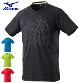 MIZUNO ミズノ 男性用 ランニングウエア 半袖 Tシャツ メンズ J2MA8005【1枚までメール便OK】