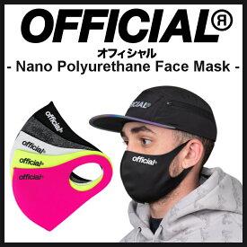 【スポイチ】OFFICIAL Nano Polyurethane Face Mask オフィシャル ナノ ポリウレタン フェイスマスク アウトドア スケートボード 洗える ファッション スポーツ マスク 感染症予防 キッズ サイズ
