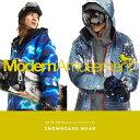 スノーボードウェア メンズ 上下セット Modern Amusement モダンアミューズメントスノーボードウェア スキーウェア スキーウエア スノボウェア ジ...