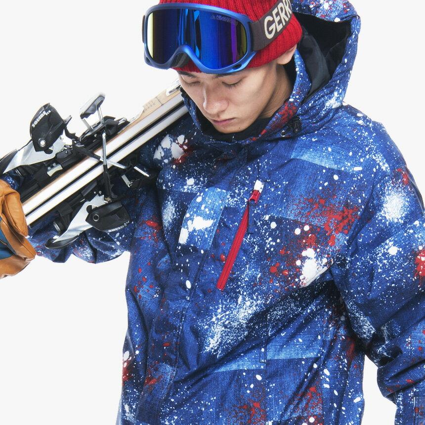 【激烈祭!4/9(火)】スキーウェア メンズ 上下 セット スノーボードウェア スノボウェア スノボー ウエア