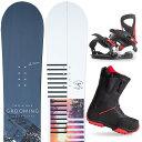 【スポイチ】【取付無料】スノーボード 3点セット 板 メンズ レディースGROOMIG AARON 板 スノーボード スノボ スノボ…