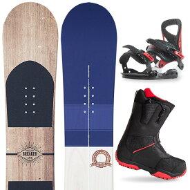 【500円クーポン】【バイン取付無料】【デッキパッドプレゼント】スノーボード 3点セット 板 メンズ レディースBREAKER CLASSICAL 板 スノーボード スノボ スノボー グラトリ 3点snowboard ツヤ消し マットコーティング
