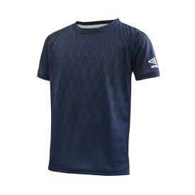 UMBRO/アンブロ JR.GAKU グラフィックTシャツ LTD ジュニア ULJLJA50BG-NVY