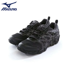 MIZUNO/ミズノ ユニセックス メンズ レディース ウエーブガゼル ウォーキング シューズ B1GA1702-09 ブラック