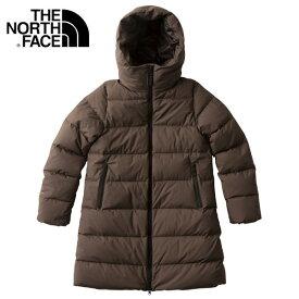 THE NORTH FACE/ ザ・ノースフェイス ウインド ストッパー ダウン シェル コート ジャケット レディース NDW91864 ブラウン アウター アウトドア 防寒 冬