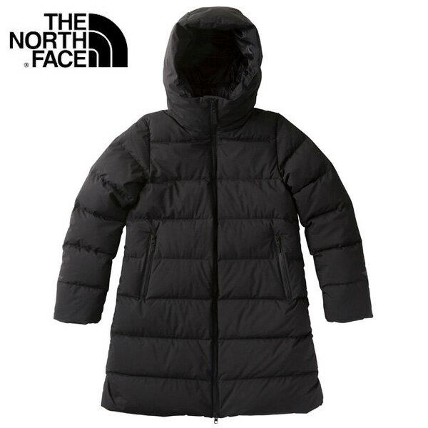 THE NORTH FACE/ ザ・ノースフェイス ウインド ストッパー ダウン シェル コート ジャケット レディース NDW91864 ブラック アウター アウトドア 防寒 冬