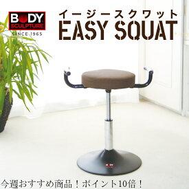 BODY SCULPTURE(ボディスクラプチャー) スクワット【送料無料】 椅子 イス イージースクワット エクササイズ ながら運動 ダイエット 簡単 座るだけ ぽっこりお腹 運動
