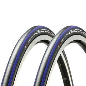 ブリヂストン ビコローレ 2本組み カラー:ブルー BRIDGESTONE BICOLORE エクステンザ EXTENZA