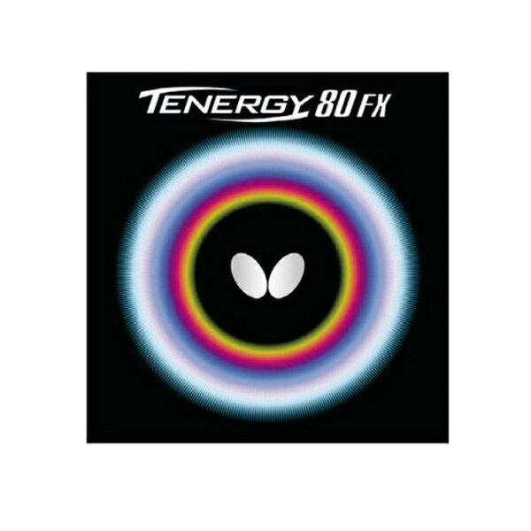 バタフライ(Butterfly) 卓球ラバー テナジー80FX エネルギー内蔵型高性能ラバー 05940